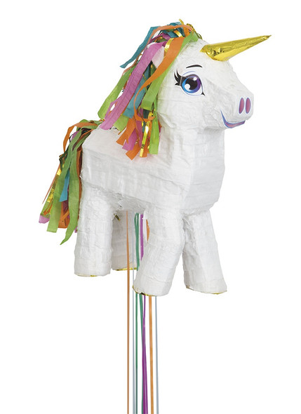 White Unicorn Pinata