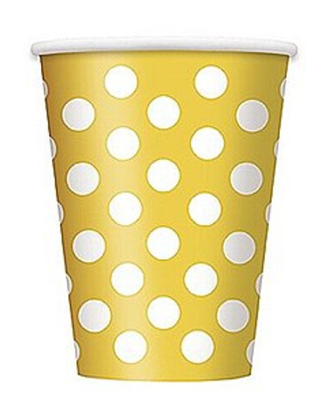 Yellow Dots Cups