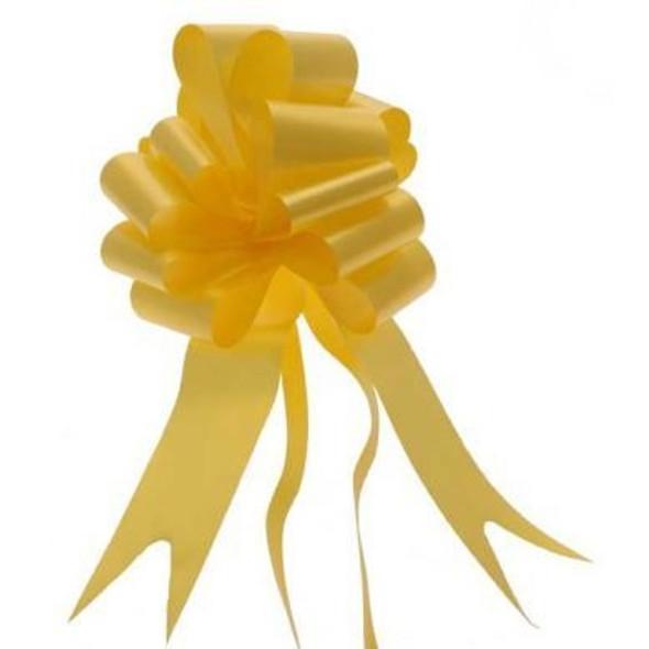 Yellow Pull Bow Ribbon