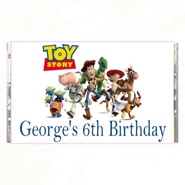 7Pk Toy Story Chocolate Bars