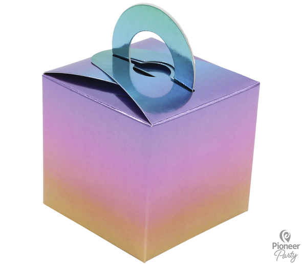 Rainbow Ombre Boxes