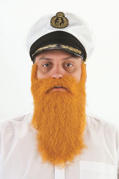 Ginger Beard & Moustache