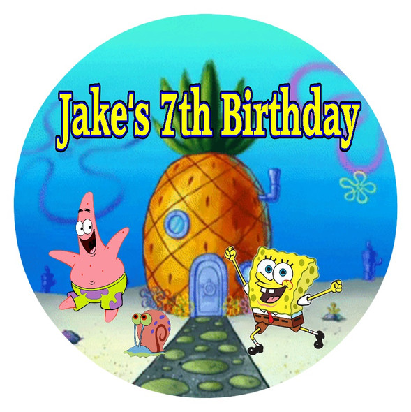 Personalised Spongebob Pinata