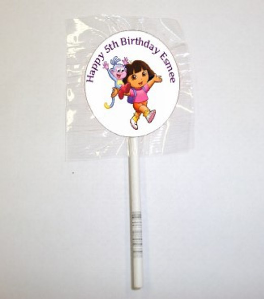 15Pk Dora Lollipops