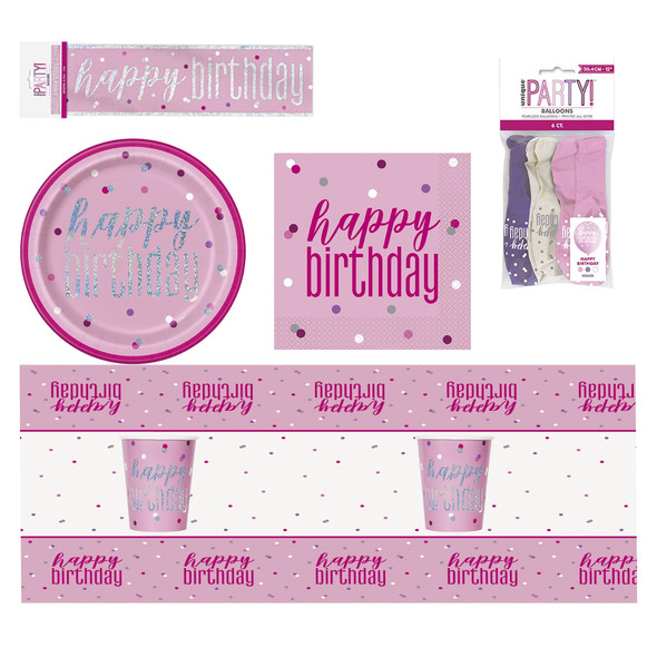Pink Glitz Party Bundle