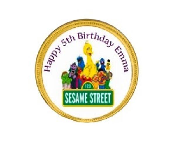 15Pk Sesame Street Chocolate Coins