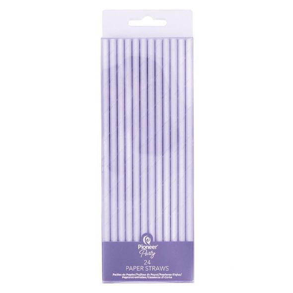 Iridescent Party Straws