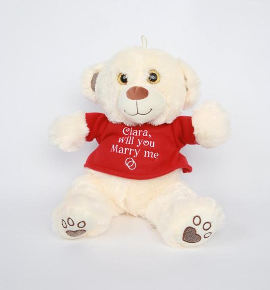 Personalised Marry Me Teddy
