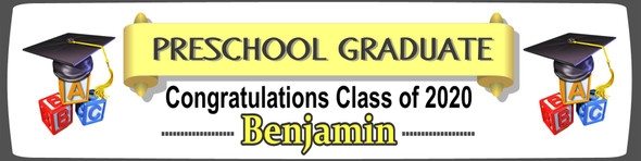Preschool Personalised Banner