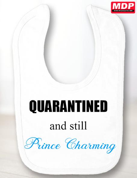 Quarantine Prince Bib