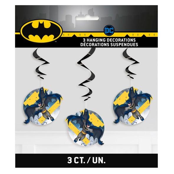 Batman Swirl Decorations