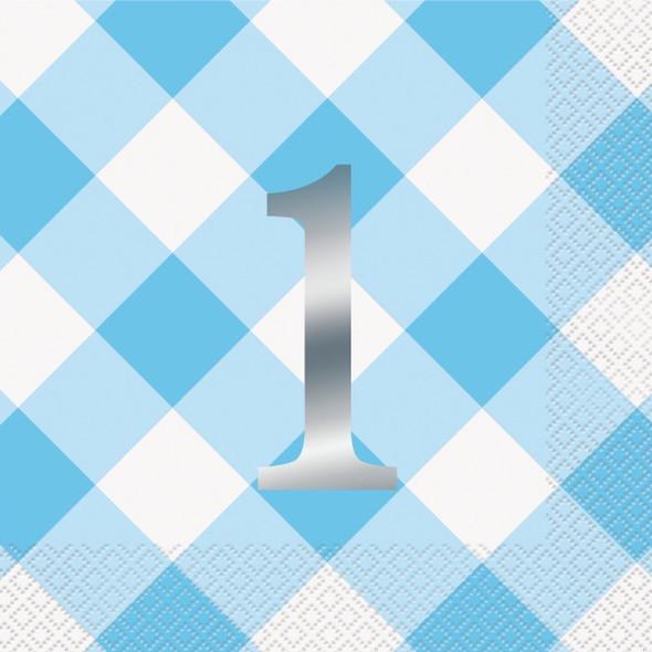Blue 1st Napkin