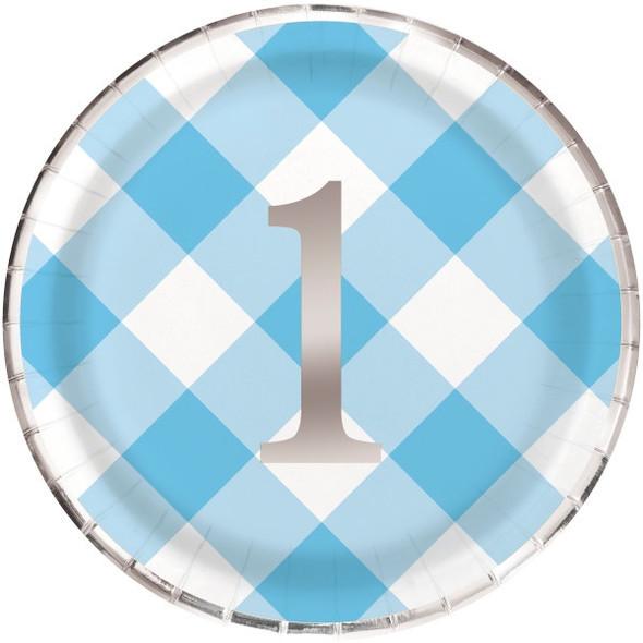 Blue 1st Party Plates