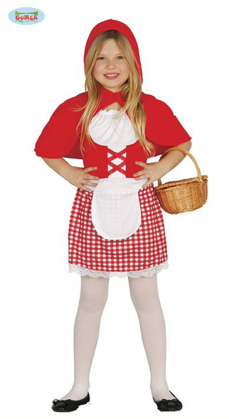 Little Red Girl Costume