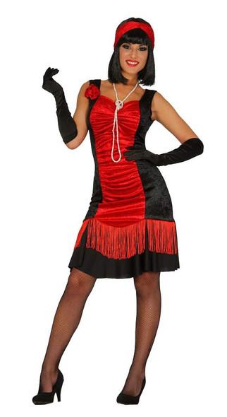 Red Charleston Costume