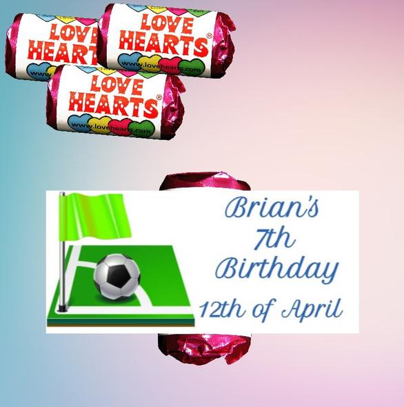 9Pk Birthday Boy Lovehearts