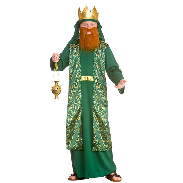 Deluxe Green Wise Man Costumes