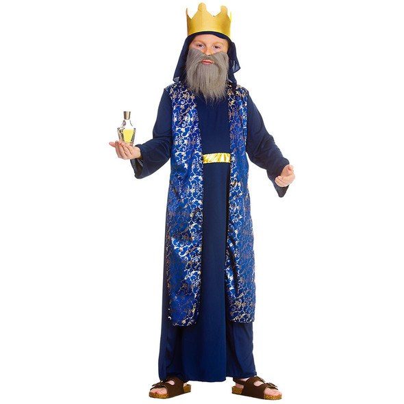Deluxe Blue Wise Man Costume