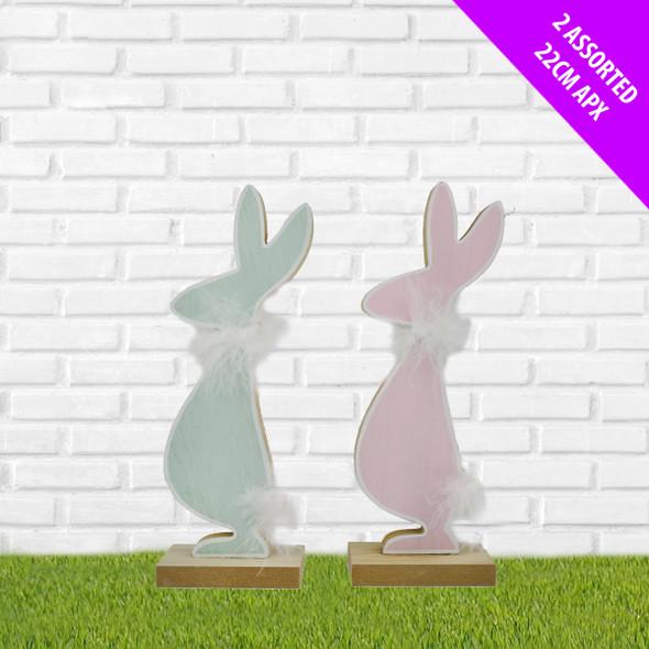 Mr & Mrs Fluffy Bunny