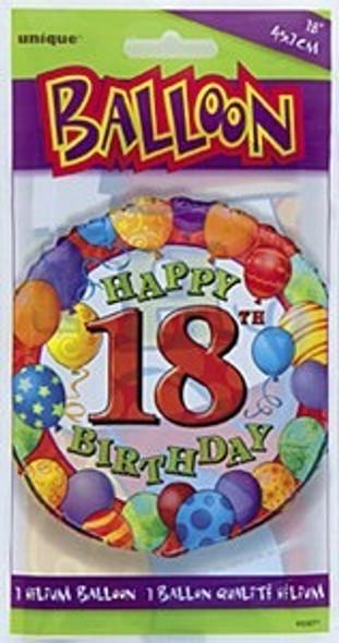 18th Birthday Party Balloon
