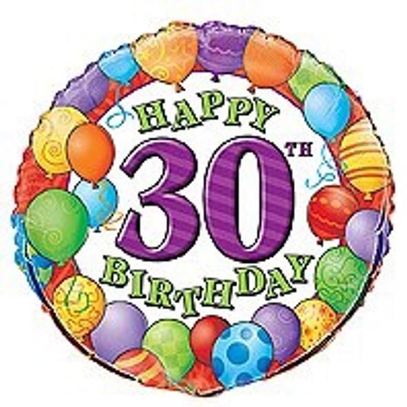 30th Birthday Party Balloon