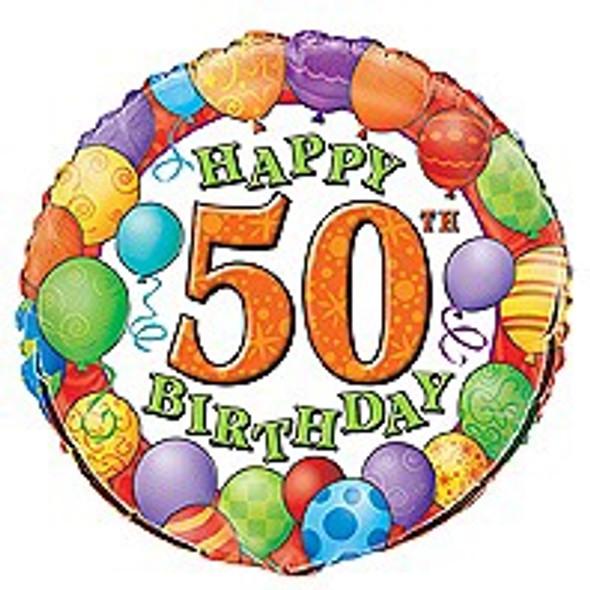 50th Birthday Party Balloon