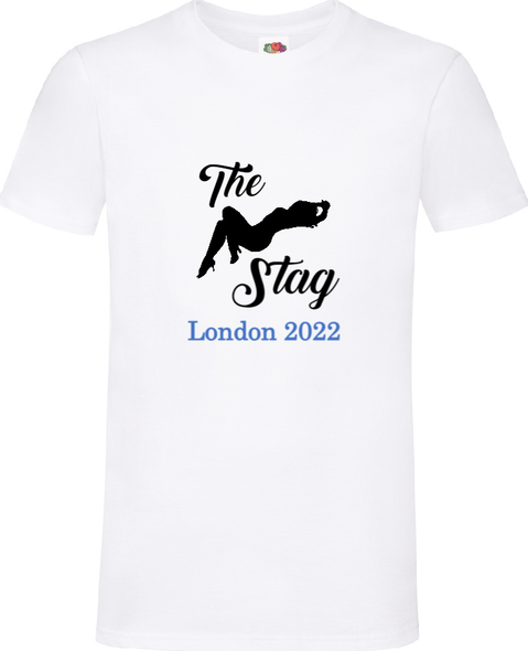Blue The Stag T-Shirt