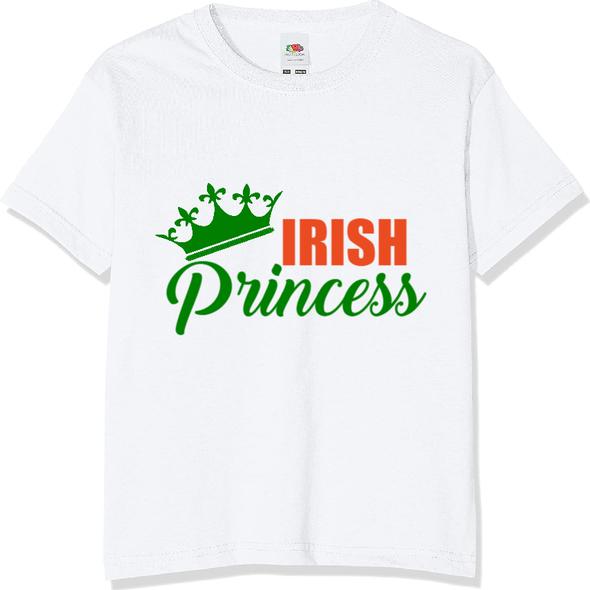 Kids Irish Princess T-Shirt