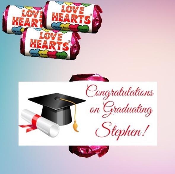 9Pk Graduation Lovehearts