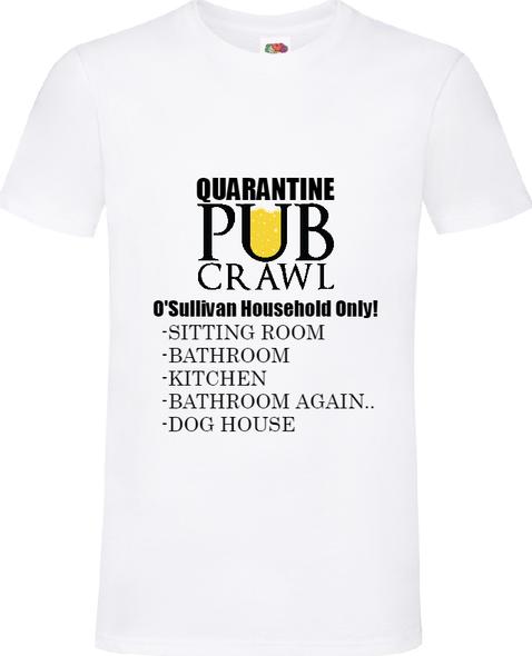 Quarantine Pub Crawl T-Shirt
