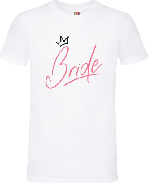 The Bride White T-Shirt