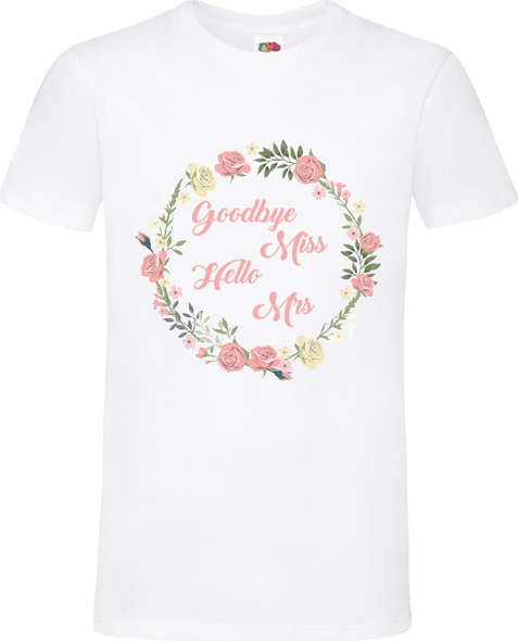 White Goodbye Miss T-Shirt