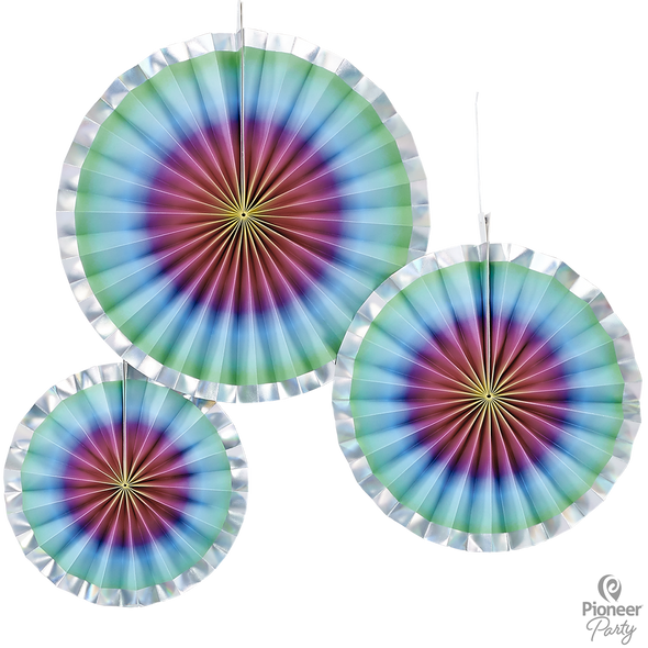 Rainbow Fan Decoration