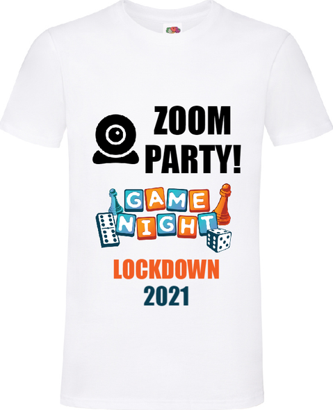Zoom Party Games Night T-Shirt