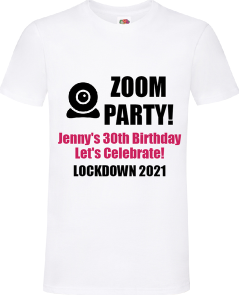 Zoom Party T-Shirt
