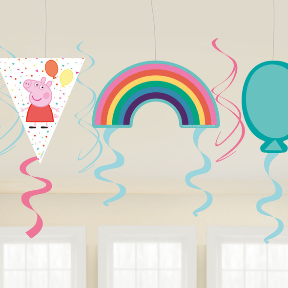 Peppa Pig Party Swirls