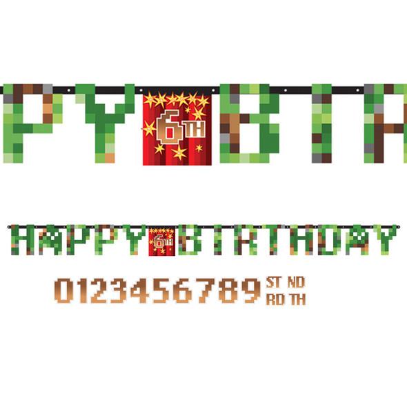 TNT Birthday Banner