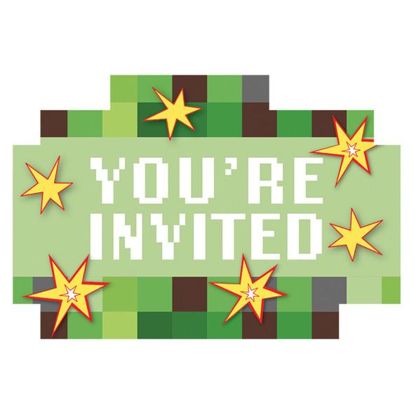 TNT Party Invitations