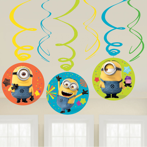 Despicable Me Party Swirls