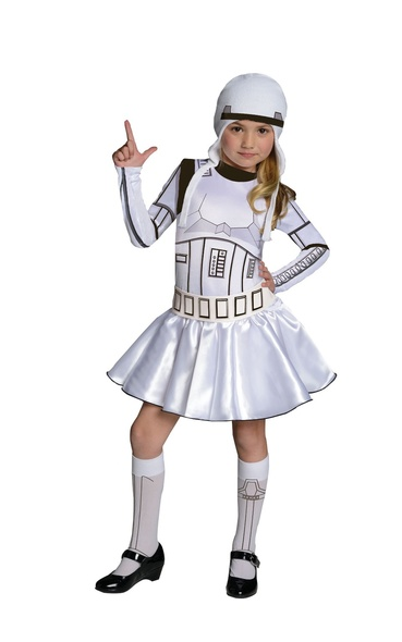 Storm Trooper Girls Costume