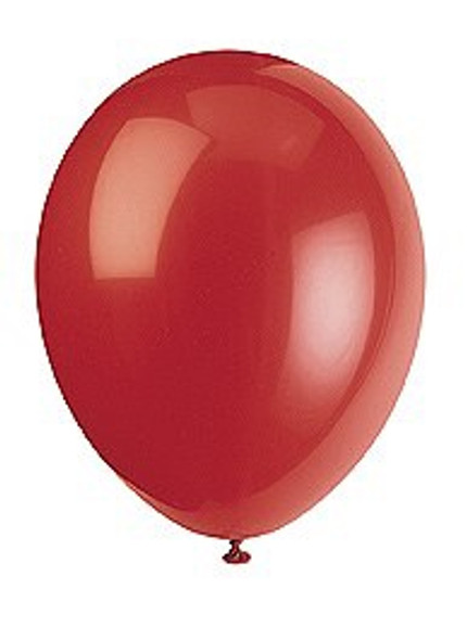 Scarlet Red Balloons