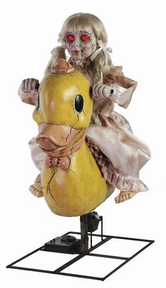 Rocking Ducky Doll Prop
