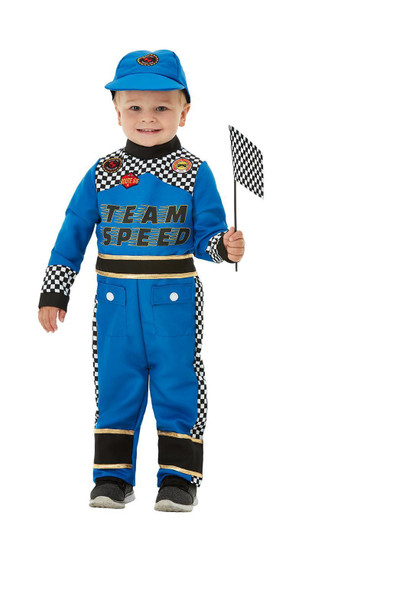 Toddler Race Driver Costume