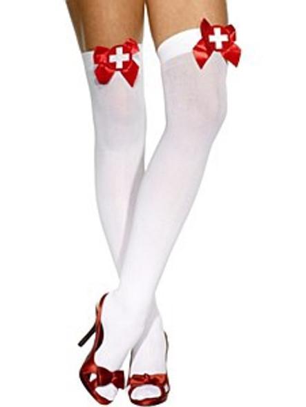 White Stockings & Bow