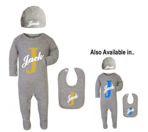 Personalise Baby Boy Set