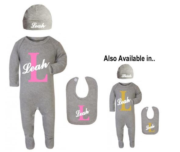 Personalised Baby Girl Set