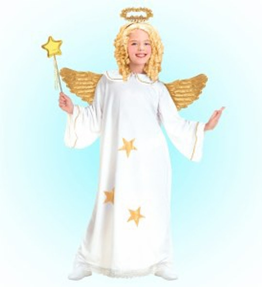 Girls Star Angel Costume