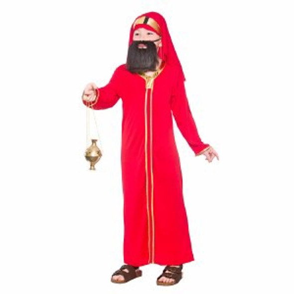 Red Wise Man Costume