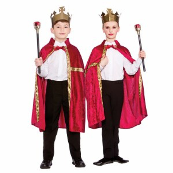 Regal Robe and Crown Set