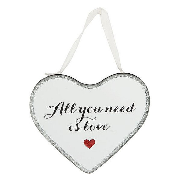 All You Need Love Plaque